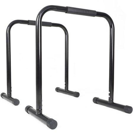 Titan Fitness Black Dip Bars Body Weight Equalizer Workout Cross Fit Leg Raise - Raven Teen Titans Go Legs
