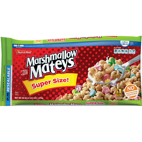 Malt-O-Meal Marshmallow Mateys Cereal, 38 Oz