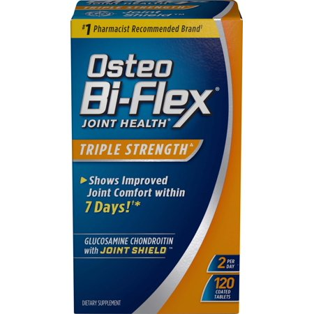 Osteo Bi-Flex Caplets Advanced Triple Strength, 120 Coated Tablets (Coated Carbon)