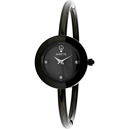 Invicta Womens Gabrielle Union Inv 23261 Black Stainless Steel Japanese Quartz Fashion Watch