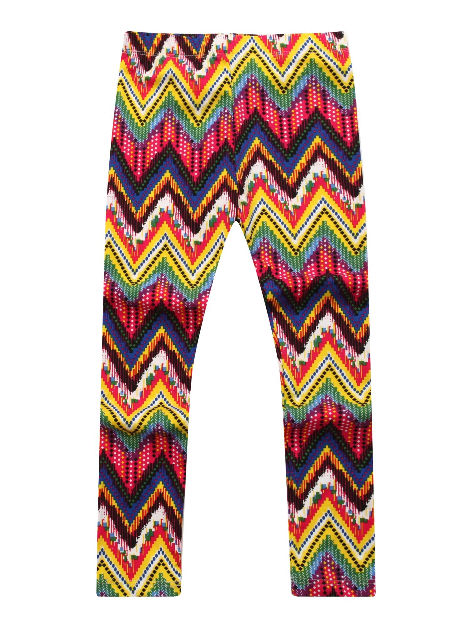Richie House Girls' Patterned Stretch Pants RH0704