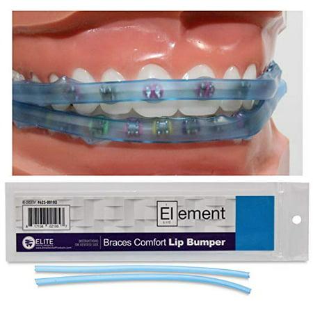 Element Braces Comfort Lip Bumper (Blue) - Orthodontic - Dental