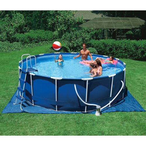 "Intex 15' x 48"" Metal Frame Swimming Pool"
