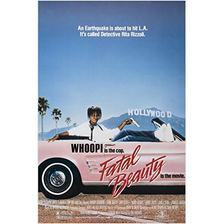 1987 Gem Proof - Whoopi Goldberg Classic Movie Poster Fatal Beauty 1987 Comedy Gem 24X36 New