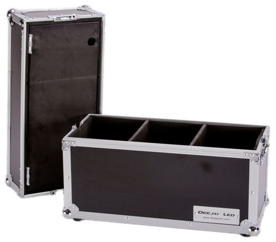 Deejayled TBHMIC18S Deejatled 18 Mic Case With Storage Comp by Deejayled