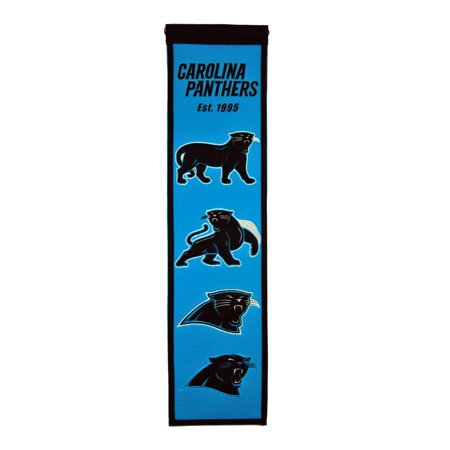 Winning Streak - NFL Heritage Banner, Carolina Panthers