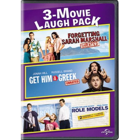 3-Movie Laugh Pack: Forgetting Sarah Marshall / Get Him to the Greek / Role Models (Christina Aguilera Get Him To The Greek)