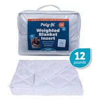 Deals on Poly-Fil Weighted Blanket Insert 42-inX72-in 12LB