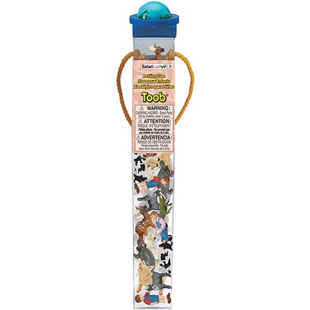 Toobs Petting Zoo Safari Ltd Set Educational Kids Toy Figure