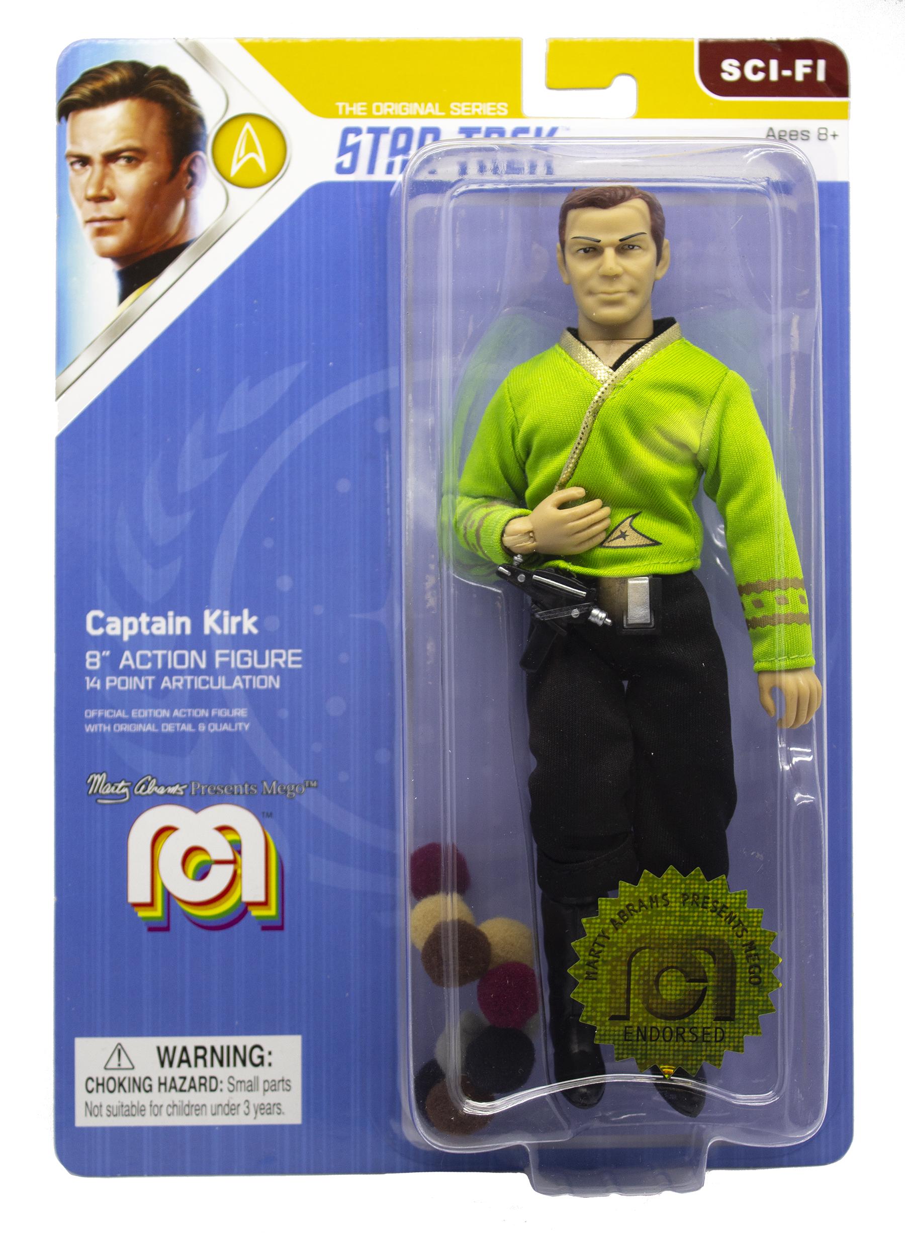 Mego Action Figures Romulan Commander Limited Edition Toys 8/&rdquo Star Trek