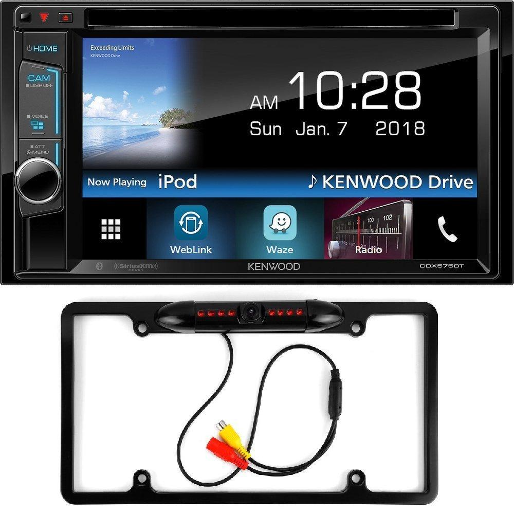 "Kenwood DDX575BT 6.2"" car stereo cd dvd bluetooth waze youtube pandora spotify Cache Night Vision Car... by Cache%2C Kenwood"