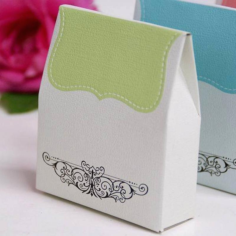 Efavormart Multiple Colors Wedding Banquet Decoration Tapestry Favor Box 100PCS