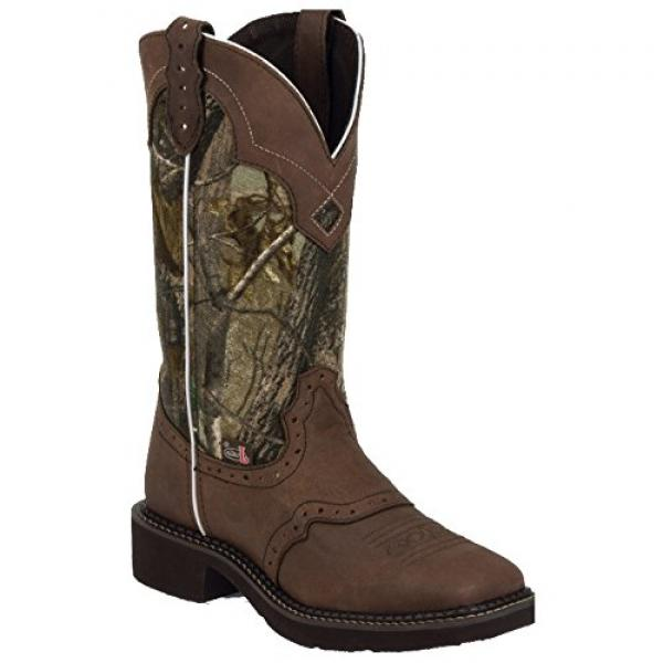Justin Boots Women's Gypsy Collection 8 Soft Toe, Aged Bark ,7B by Justin Boots