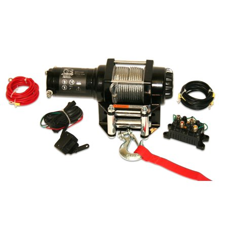 - BULLDOG WINCH 15006 2500LB ATV WINCH, WITH MINI-ROCKER SWITCH, MOUNTING CHANNEL, ROLLER FAIRLEAD