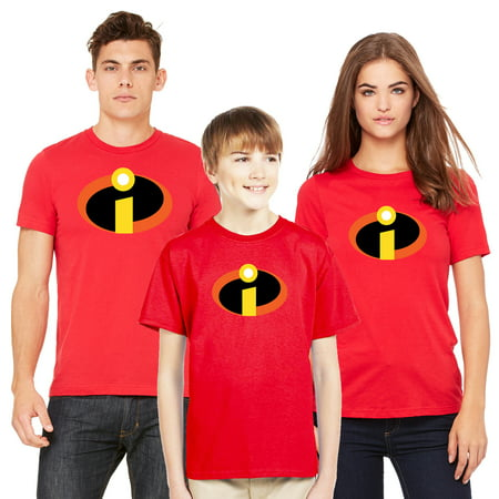 The Incredibles T-shirt Men Women Youth Family Disney Matching (Sold Separately) ()