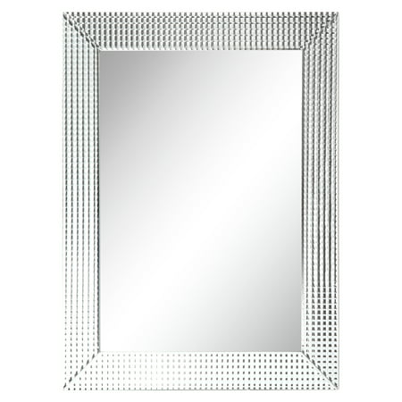 Empire Art Direct Bling Beveled Glass Mirror, 30