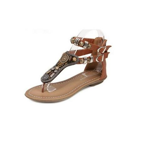 17b910c54b72 Meigar Summer Women Bohemia Flip Flops Sandal Flat Shoes Special Today -  Walmart.com