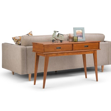 Awe Inspiring Wyndenhall Tierney Mid Century Console Sofa Table Walmart Com Creativecarmelina Interior Chair Design Creativecarmelinacom