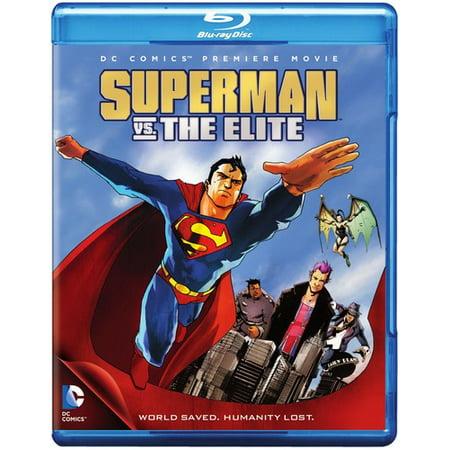 Dcu Superman Vs  The Elite Mfv  Blu Ray   Digital Copy