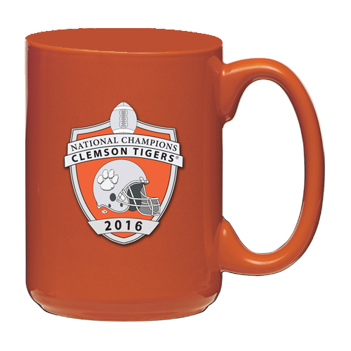 Clemson Tigers 2016 National Champs Orange Coffee Mug
