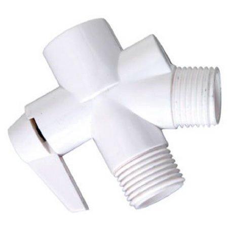 Delta Faucet 543-205 White Plastic Shower Flow Diverter