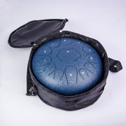 ALAMATA 12 inch Steel Tongue Drum 13 Notes Hand Drum Alloy Handpan Drum for Kids and Adults
