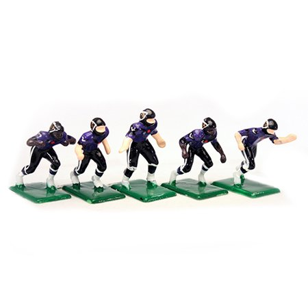 NFL Home Jersey-Baltimore Ravens Hand Painted 11 Electric Football Players