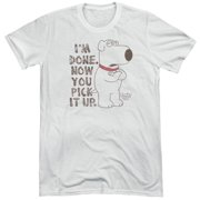 Family Guy Pick It Up Mens Tri-Blend Short Sleeve Shirt