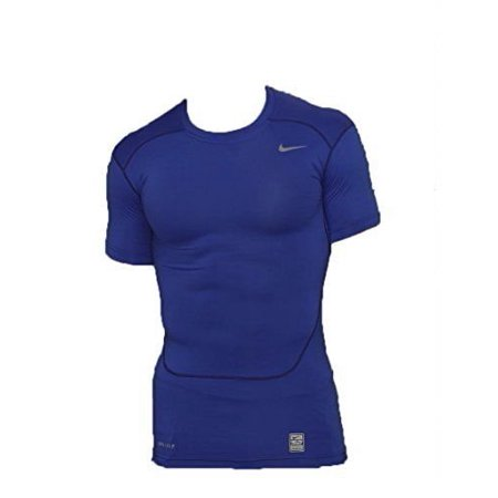 (Nike NK535720 419 S Pro combat Compression Short Sleeve Shirt Navy/Navy 535720 419 (Small,)