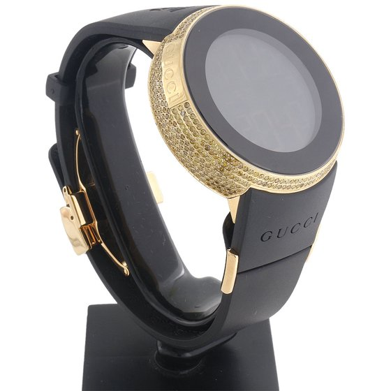 71d86fe0c47 Gucci - Yellow Diamond I-Gucci Watch Mens Digital Gucci Grammy ...