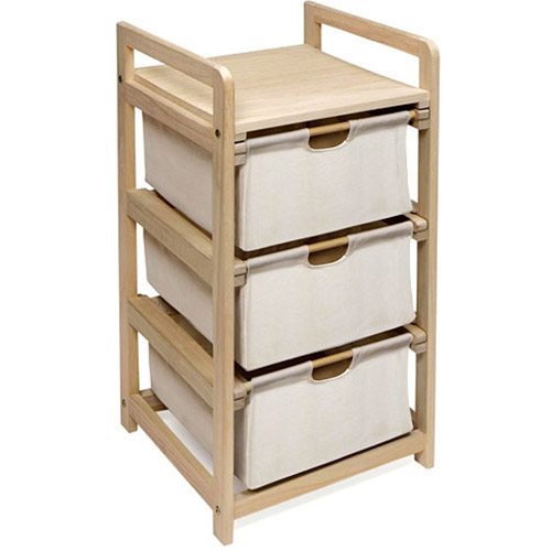 Badger Basket 3-Drawer Hamper Storage Unit by Badger Basket Company