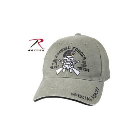 ROTHCO VINT LOW PROFILE CAP/ SPECIAL FORCES - OD