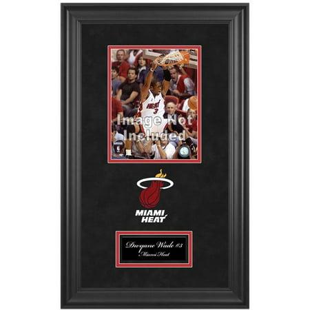 """Miami Heat Deluxe 8"""" x 10"""" Team Logo Frame"""