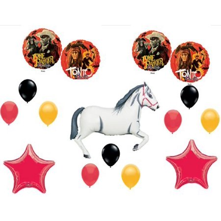LONE RANGER and TONTO Happy Birthday PARTY Balloons Decorations Supplies by Anagram