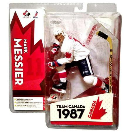 McFarlane NHL Sports Picks Team Canada Mark Messier Action Figure ()