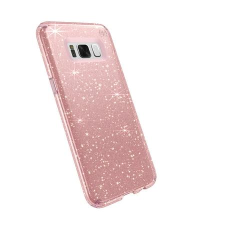 Speck Presidio Clear + Glitter for Samsung Galaxy S8