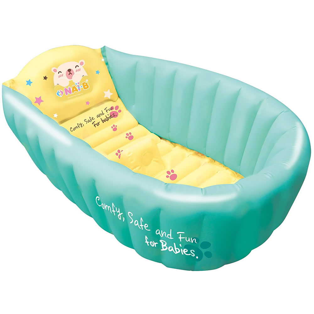 Nai-B Hamster Inflatable Baby Bathtub - Mint