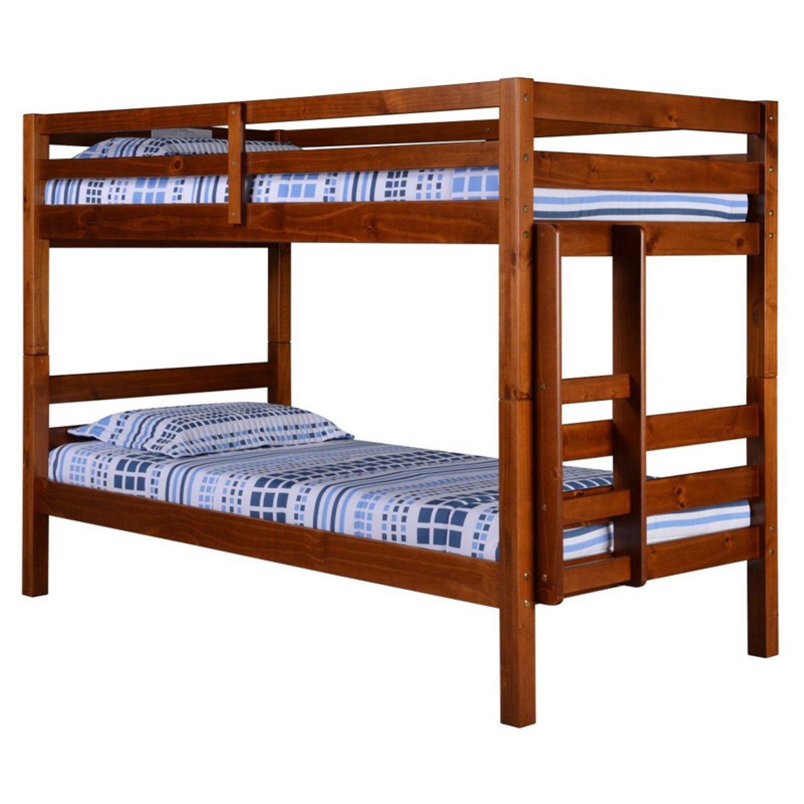Concord Twin Over Twin Bunk Bed - Cappuccino Finish
