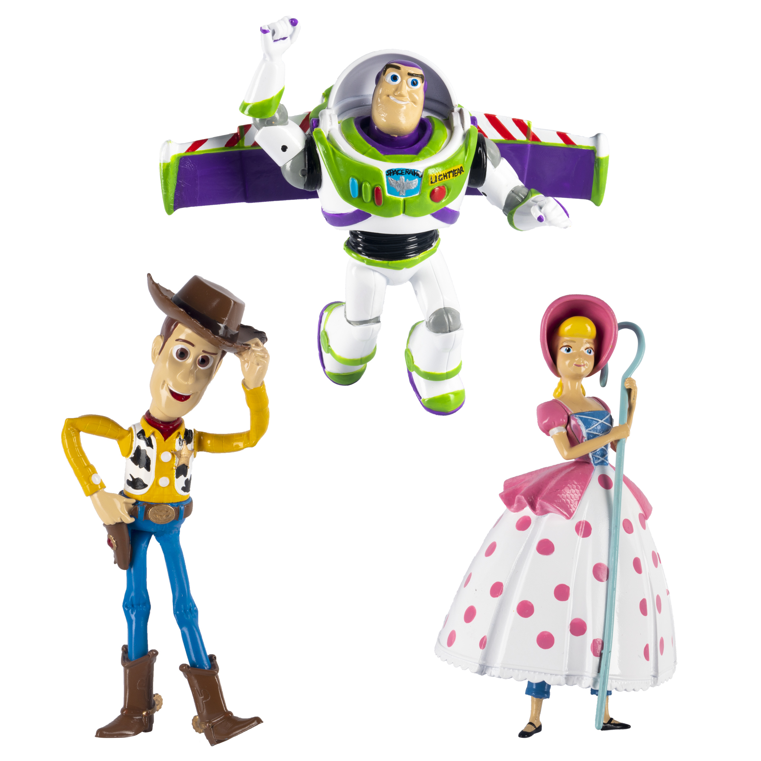 Swimways Toy Story Dive Characters Woody Buzz Lightyear Bopeep Pool Toys Pack Of 3 Walmart Com Walmart Com