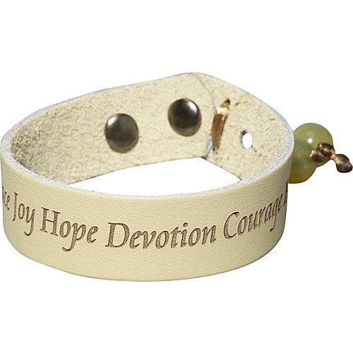 Dillon Rogers Life love peace Bracelet- Medium