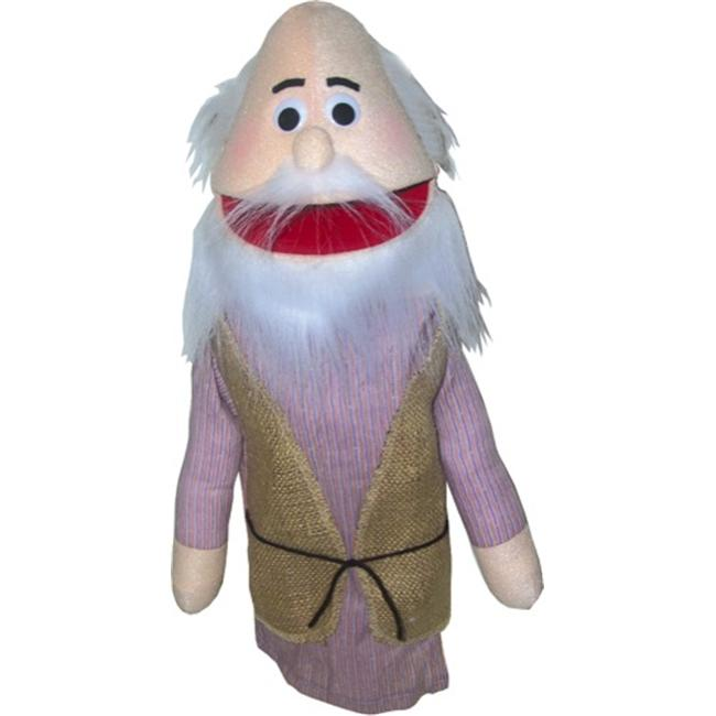 Get Ready 388 Old Man - Noah Puppet - 18 inch