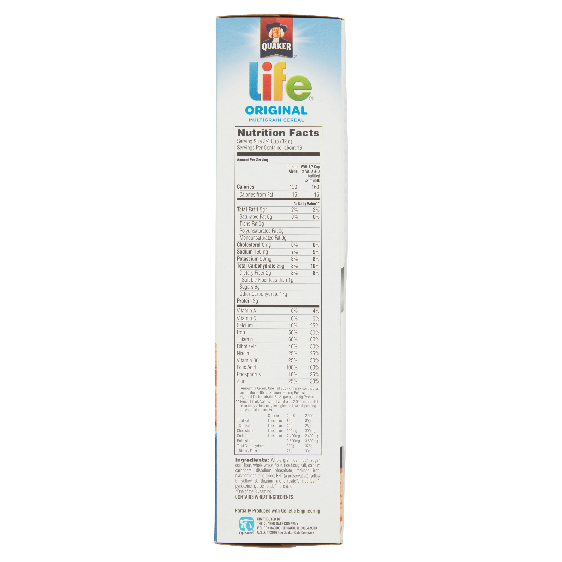 Quaker Life Cereal (Original) Is Ideal For Breakfast
