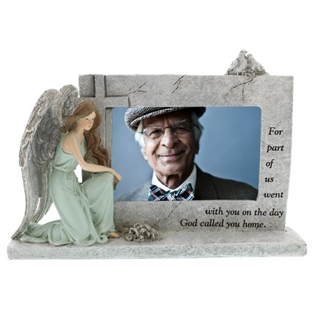 Kneeling Angel Memorial Photo Frame (Angel Tree Frame)