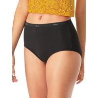 Hanes Women's Cotton Brief Panties 10 Pack