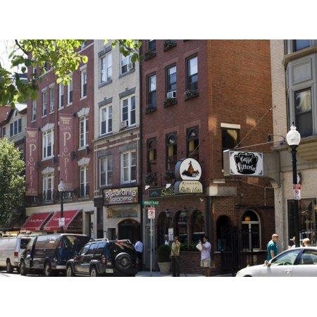 North End, Little Italy, Boston, Massachusetts, New England, USA Print Wall Art By Amanda