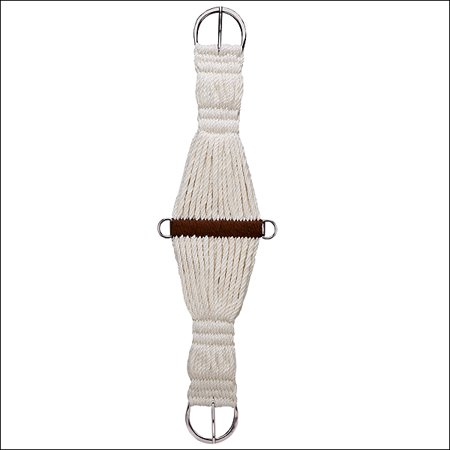 Cinch Natural - 30 inch WEAVER LEATHER NATURAL MOHAIR BLEND 27 STRAND ROPER CINCH