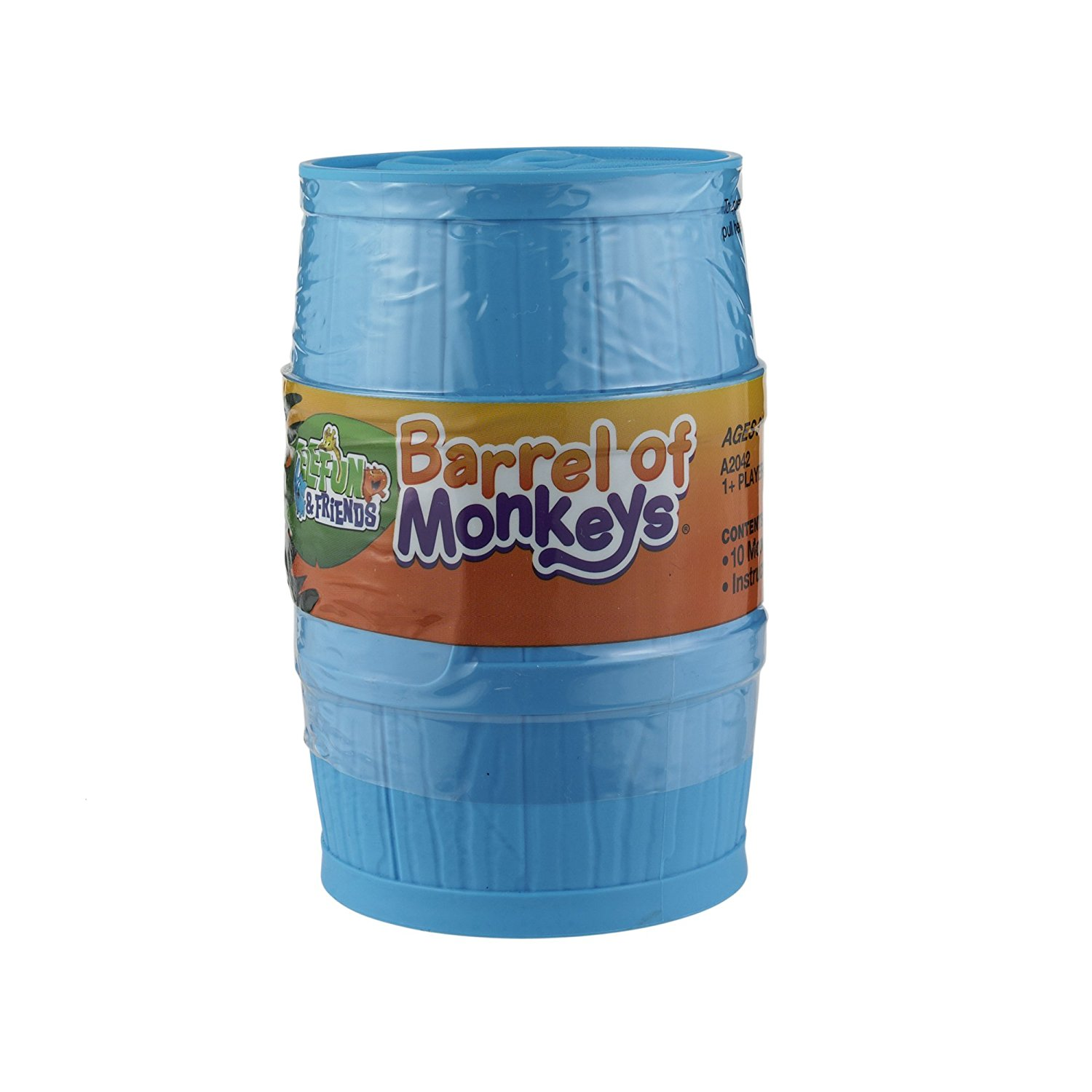 Elefun and Friends Barrel of Monkeys Game Colors May Vary, USA, Brand Hasbro by Hasbro