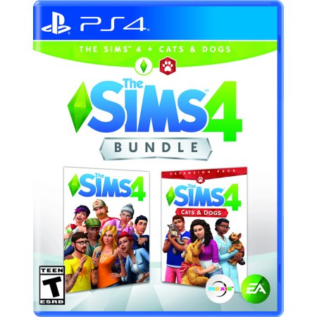 The SIMS 4 + Cats & Dogs, Electronic Arts, PlayStation 4, 014633375374 (Sims Pets 3 3ds)