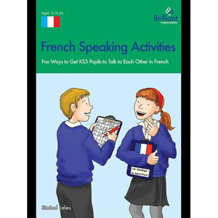 French Speaking Activities (KS3) - eBook