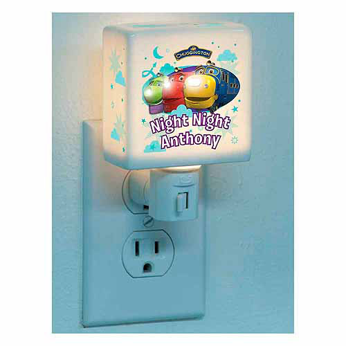 Personalized Chuggington Night, Night Nightlight
